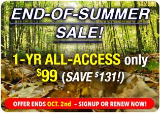 Midsummer Sale - Save $141!